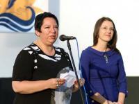 Марина Владева и Магдалена Петкова обявяват победителите от конкурса
