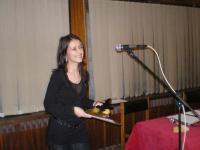 """Анелия Георгиева, носител на """"Еквалибриум"""" за 2007 г."""