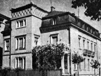 """Къщата на Атанас Буров на столичната улица """"Московска"""""""