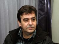 Издателят на книгата - Денчо Михов (Снимка: Борислав Пенков)