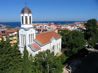 Православният храм в Приморско, съграден от поп Петко - основателят на рода Поповци