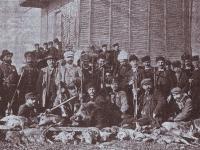 Местните ловци, обща снимка, 29 декември 1901 г.