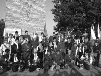 Въстаници, участващи във възстановката от събитията от Конгреса на Петрова нива