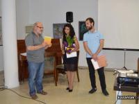 """Поздравления към Таня Мир от Румен Денев, редактор на сп. """"Кула"""""""