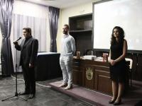 Издателят Денчо Михов - за литературното отличие и за книгите на младата авторка