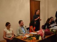 Александрина Георгиева – от името на издателството – за литературната награда