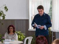 """Денчо Михов от издателство """"Либра Скорп"""" представи книгата """"Априлски сняг"""""""
