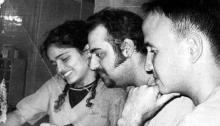 Доктор Димитриус Споридис (в средата)
