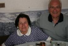 Христина Стоева със съпруга си Илия Стоев